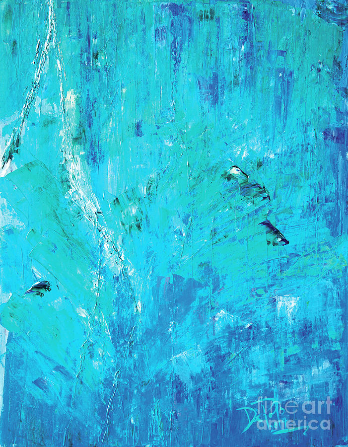 Abstract Painting - Consumed by JoAnn DePolo
