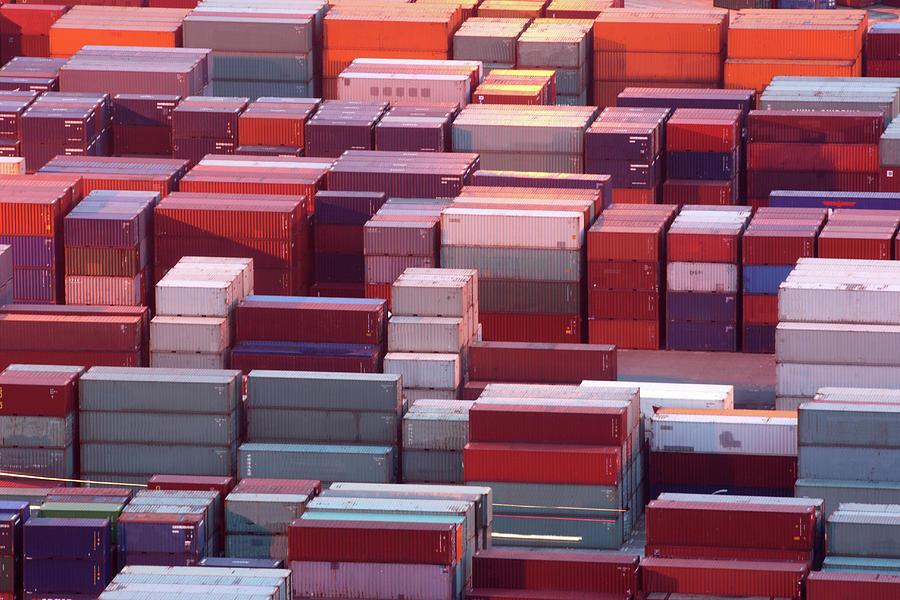 Containers Photograph by Marc-henri Desbois