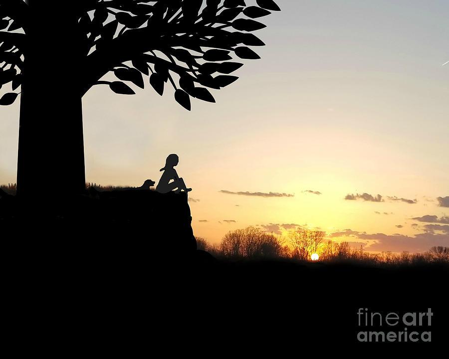 Contemplation by Diamante Lavendar