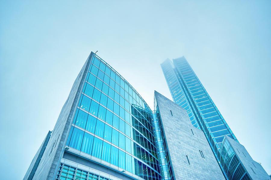 Contemporary Architecture In The Fog Photograph by Cirano83