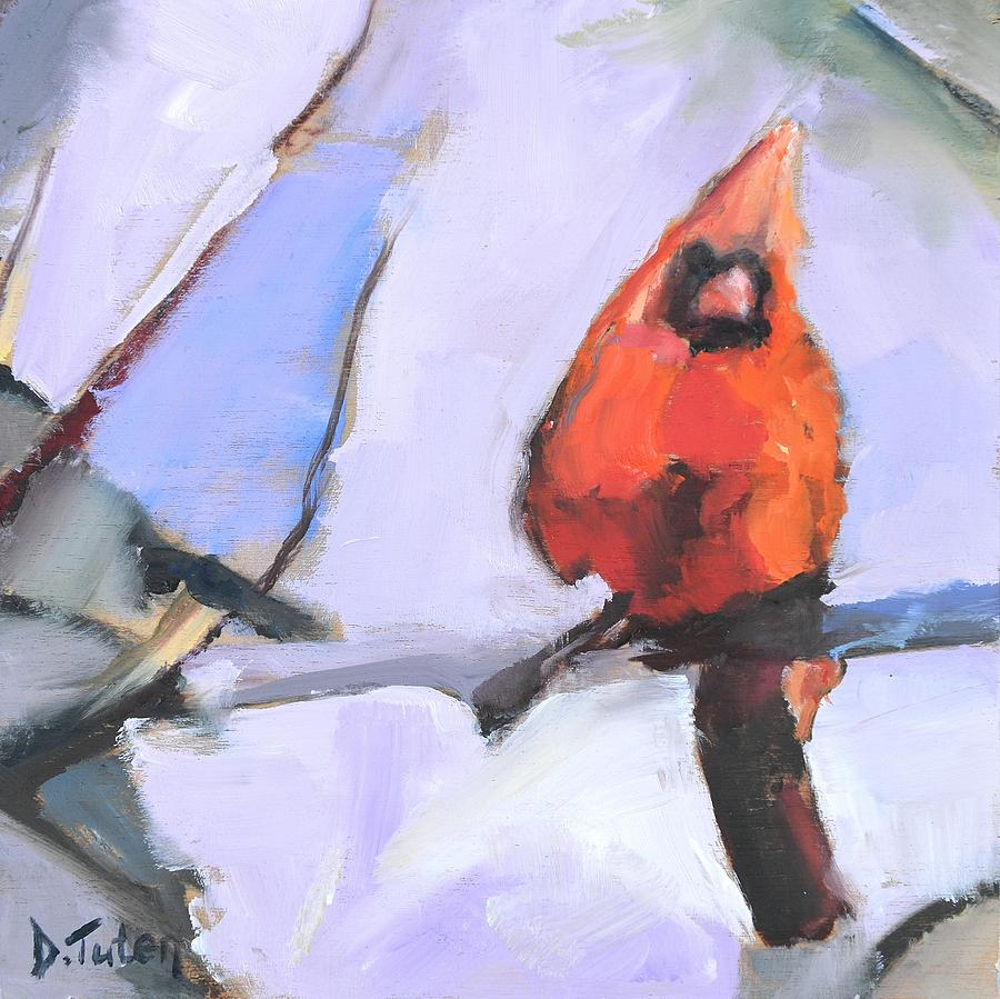 Contemporary Cardinal by Donna Tuten