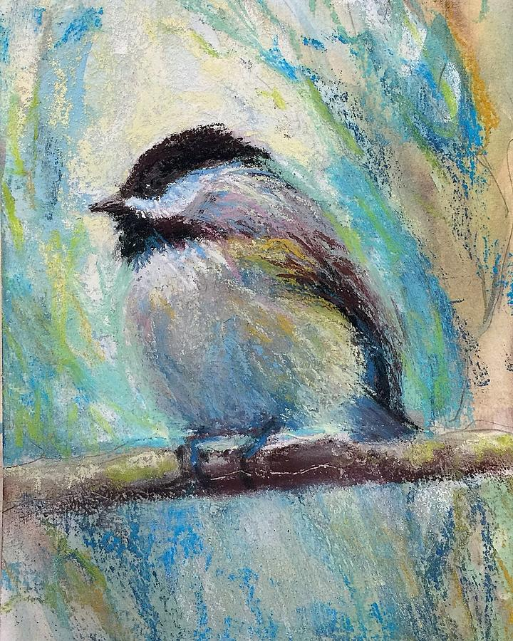 Content Chickadee by Susan Jenkins
