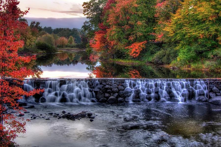 Contoocook River Photograph - Contoocook River Reservoir  by Joann Vitali