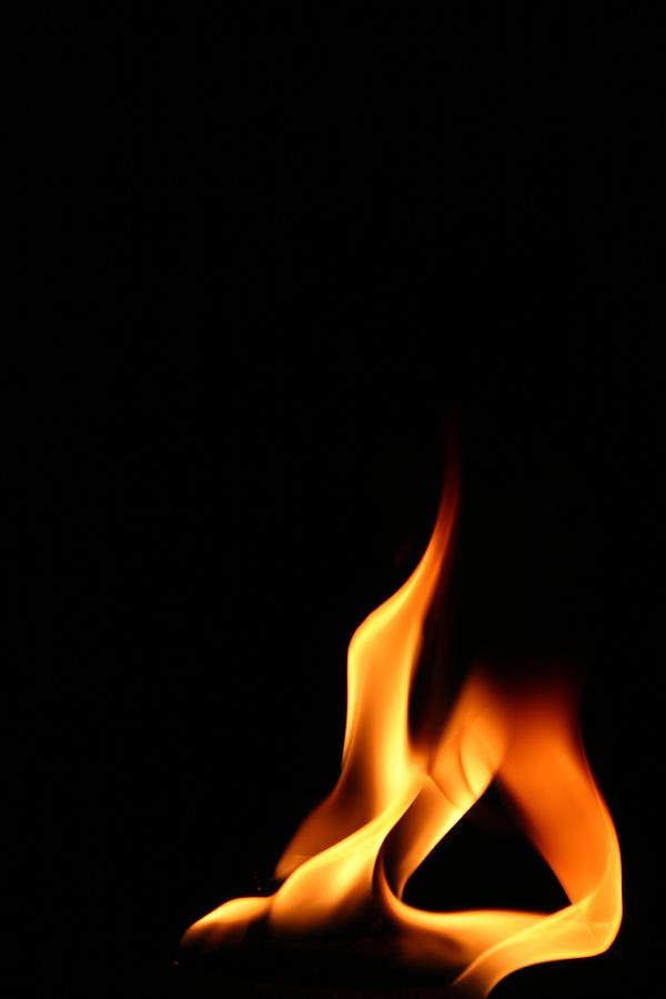 Contorted Flame Photograph by Itsjustluck