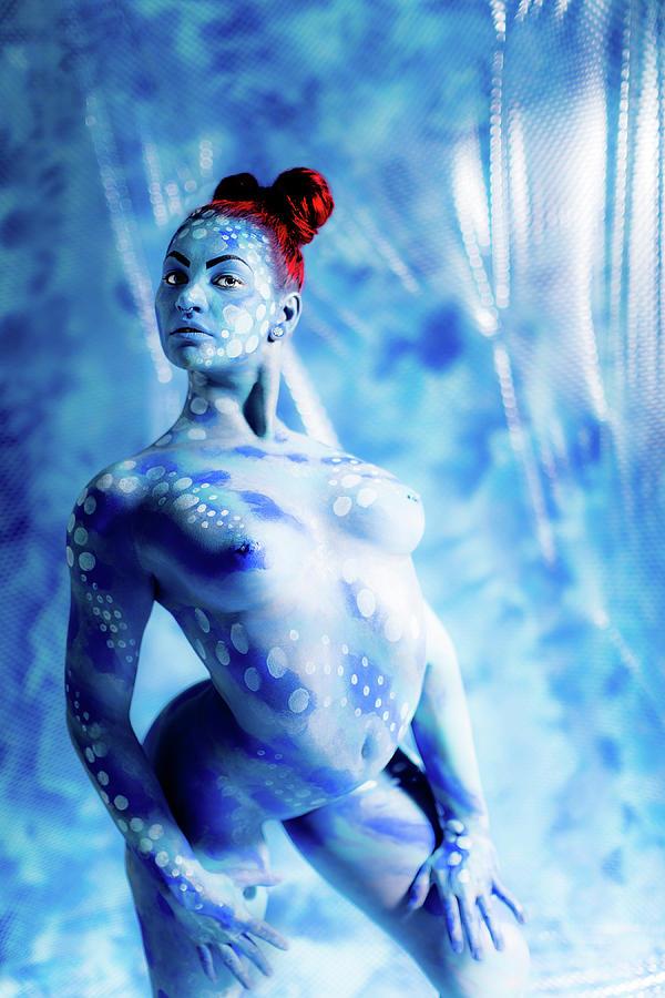 Bodypaint Painting - Contortionist 4 by Matt Deifer