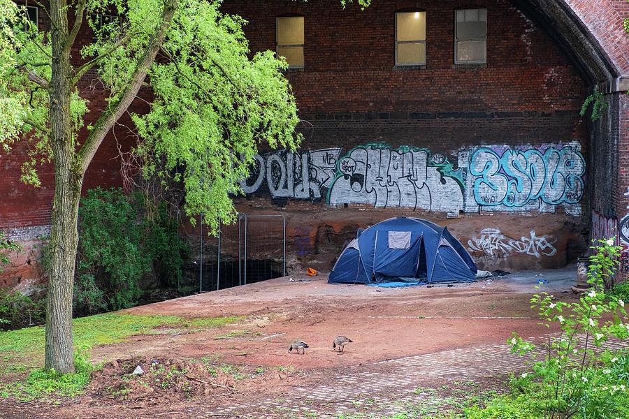 Contradictions of urban 21st century Manchester by IORDANIS PALLIKARAS