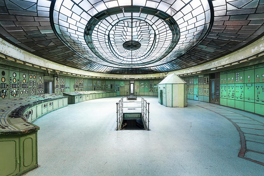 Control Room in Decay by Roman Robroek