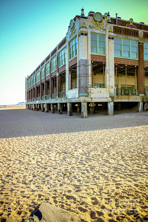 Convention Hall Beach View by Colleen Kammerer