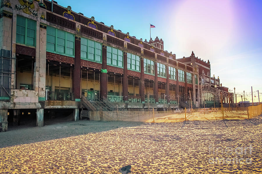 Convention Hall the Golden Hour by Colleen Kammerer