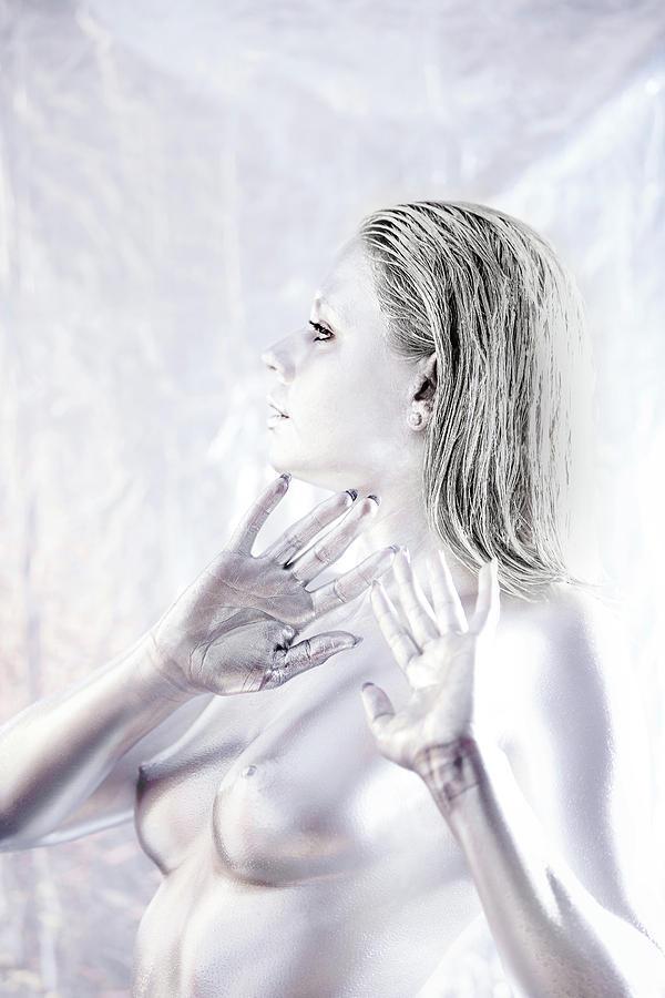 Bodypaint Painting - Convergence 13 by Matt Deifer
