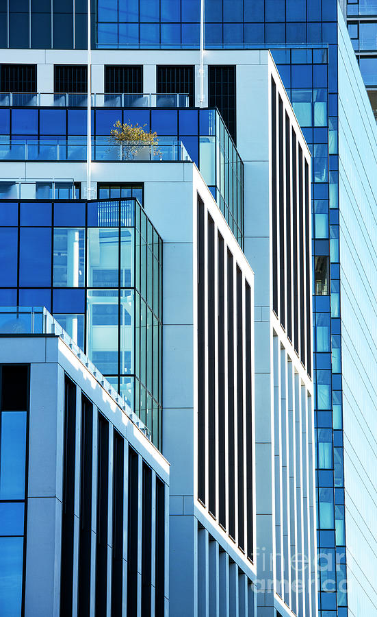 Windows Photograph - Converging Corners by Tim Gainey