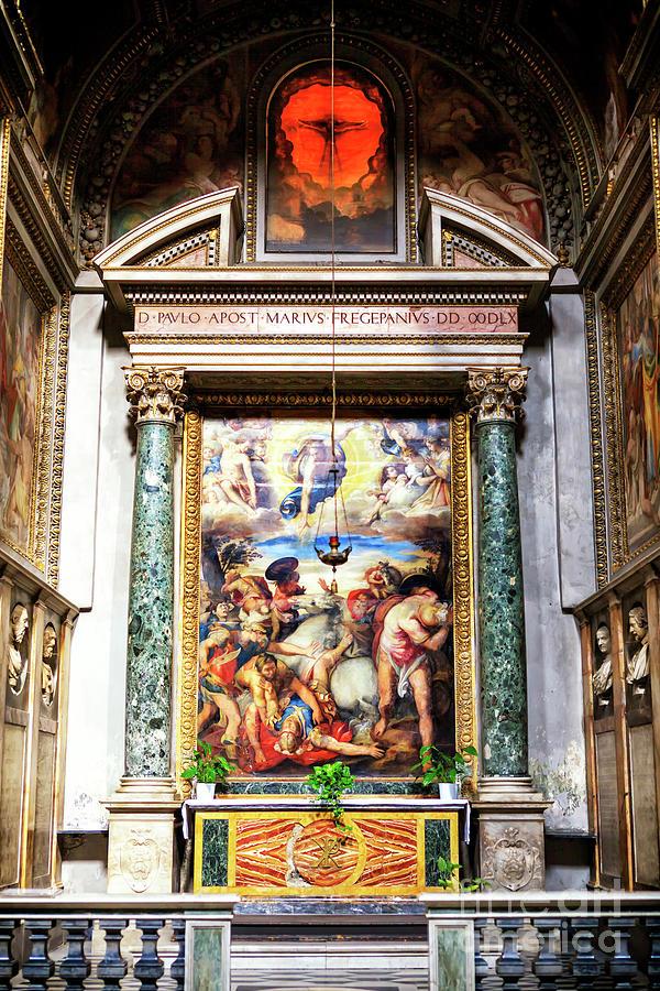 Conversion of Saint Paul at San Marcello al Corso in Rome by John Rizzuto