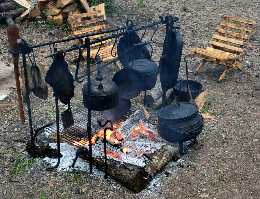 Cooking In The 1800s by David Lee Thompson