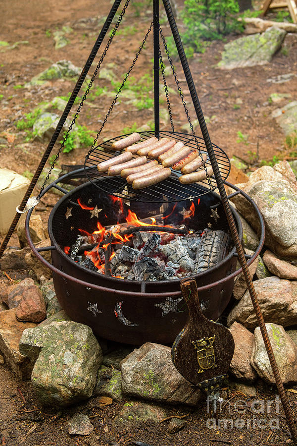 Cooking on an Open Fire by James BO Insogna
