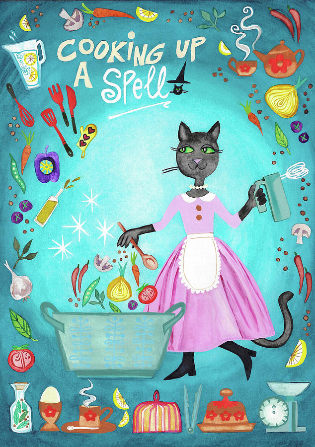 Cooking Up A Spell by Catherine Athena Louise