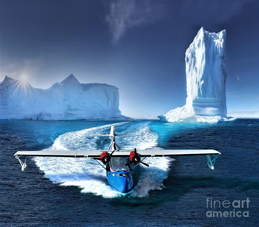Arctic Photograph - Cool Ice Tower Catalina  by Hans Wiesman
