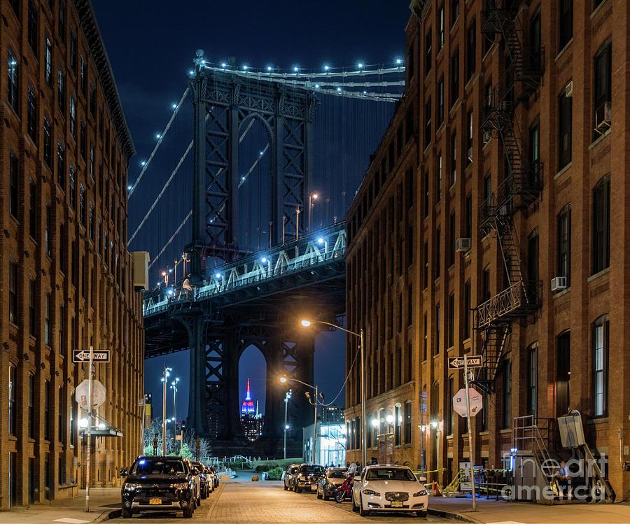 34th Street Photograph - Cool Night by Imma Barrera