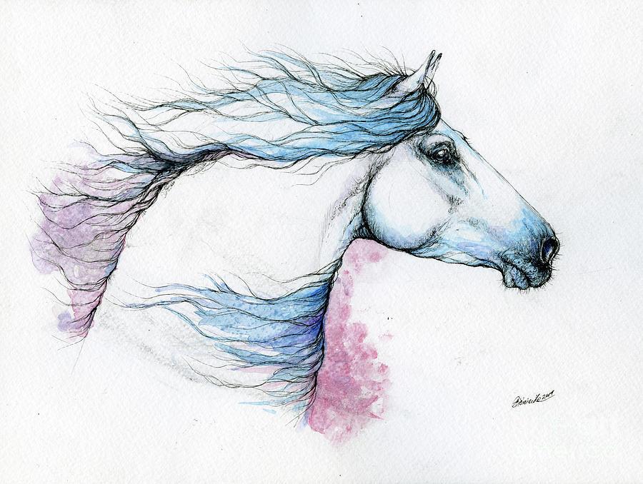 Cool wind in my hair by Angel Ciesniarska
