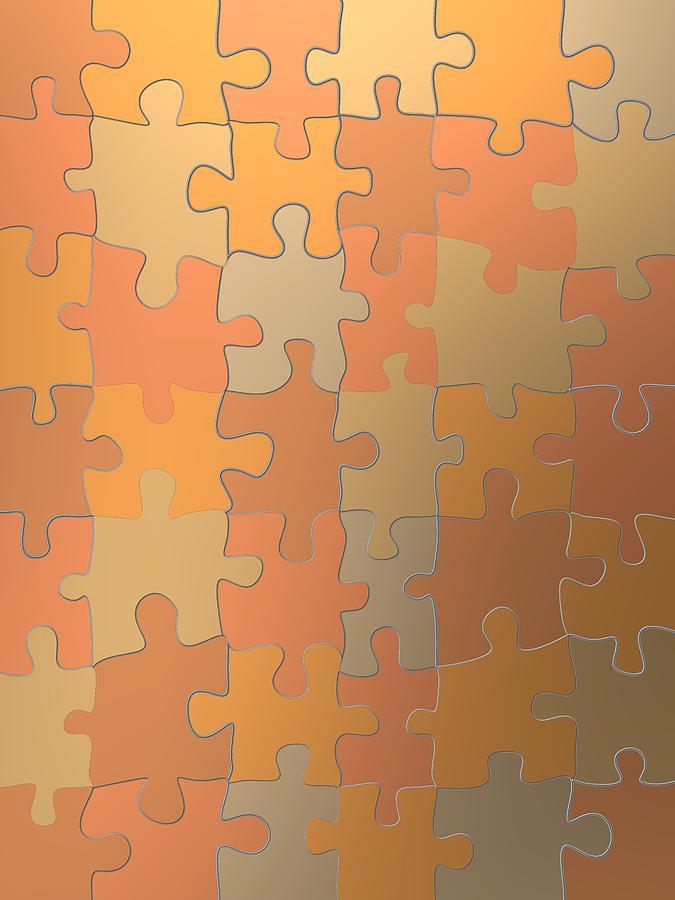 Cooper fashion puzzle by Alberto RuiZ