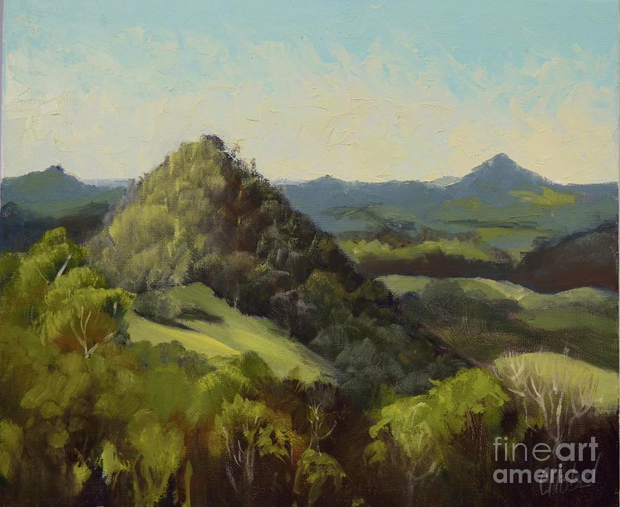 Cooran, Sunshine coast painting by Chris Hobel