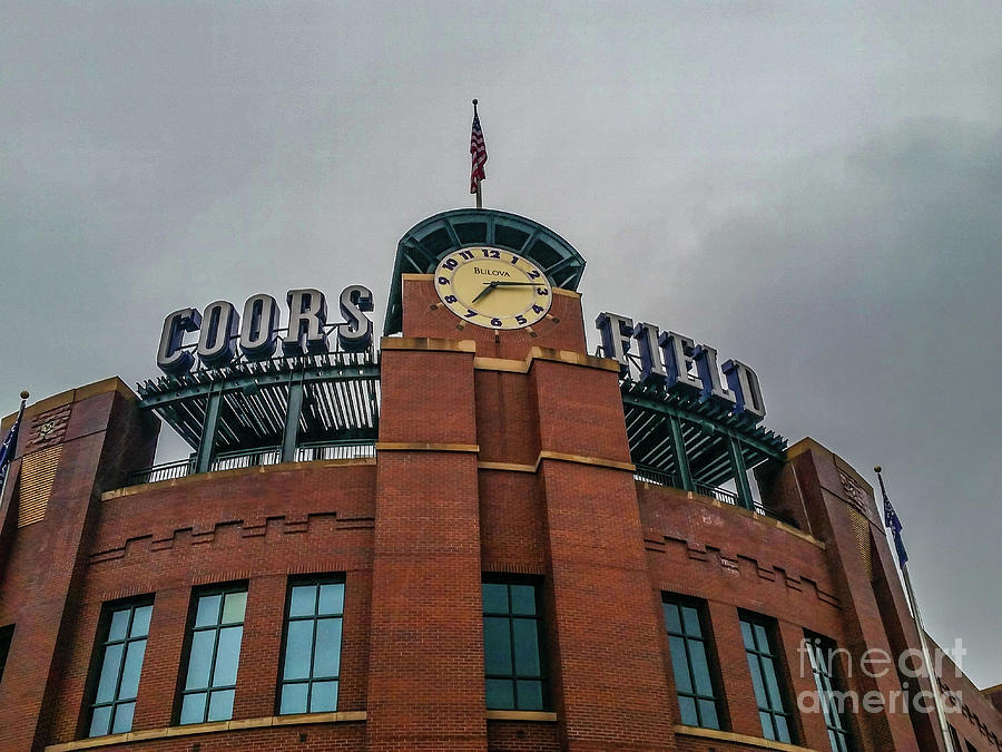 Coors Field by Tony Baca