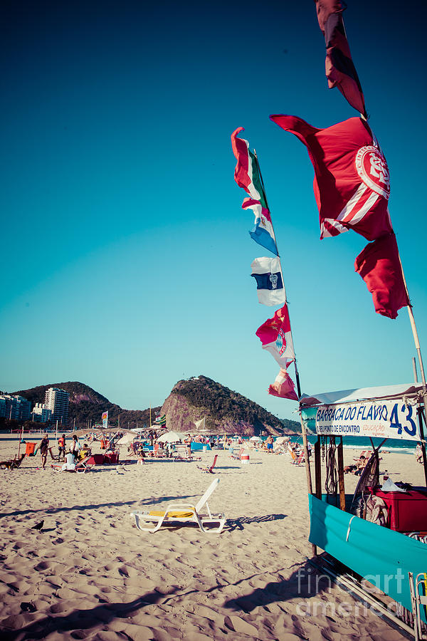 De Photograph - Copacabana Beach In Rio De Janeiro by Curioso