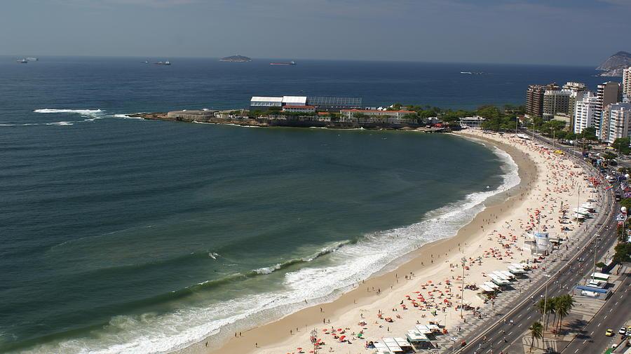 Copacabana Beach Photograph by Jose Fernando Ogura/curitiba/brazil
