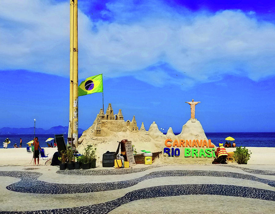 Copacabana Sand Castle by Roger Bester