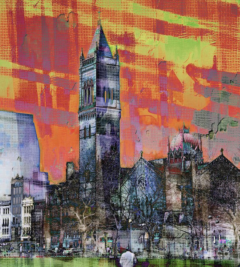 Copley Square #1 by Marcia Lee Jones