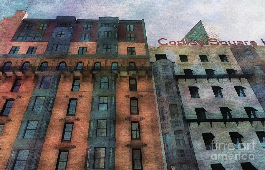 Copley Square #3 by Marcia Lee Jones