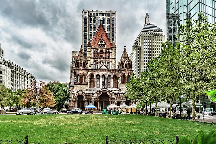Copley Square Boston by Sharon Popek