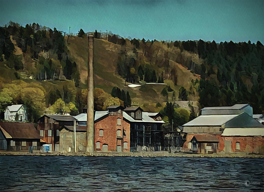 Copper Smelter by Tim Nyberg