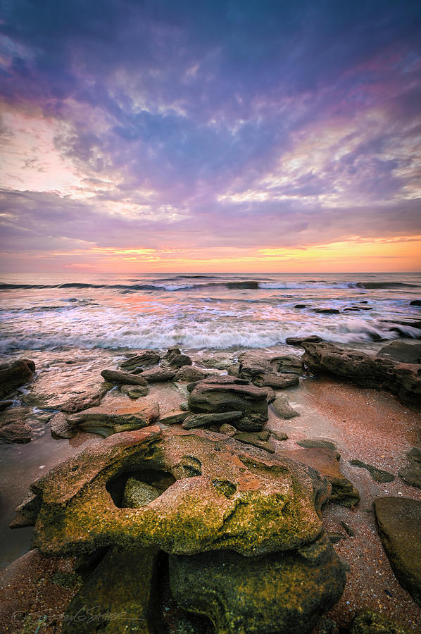 Coquina beach sunrise by Stacey Sather