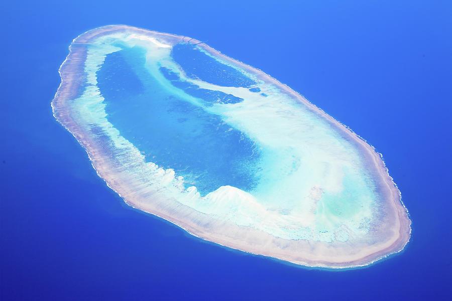 Coral Atoll Photograph by Capturedart
