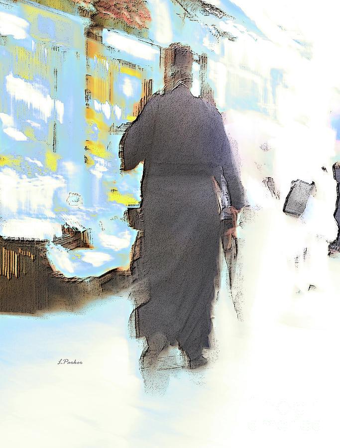 CORFU PRIEST by Linda Parker