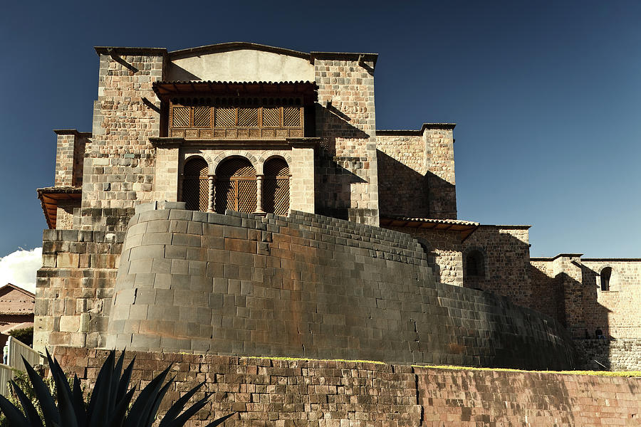 Coricancha And Church Of Santo Domingo Photograph by Gcoles