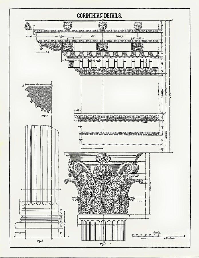 Corinthian Architecture by James Fannin