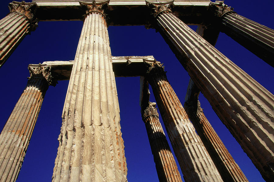 Corinthian Columns Of The Temple Of Photograph by Lonely Planet