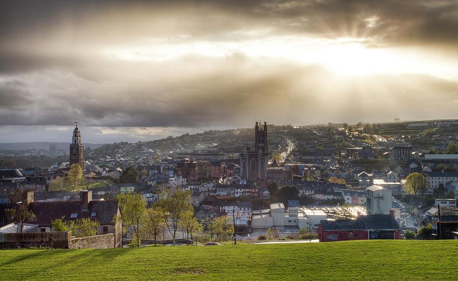 Cork City Skyline Photograph by Ian Gethings