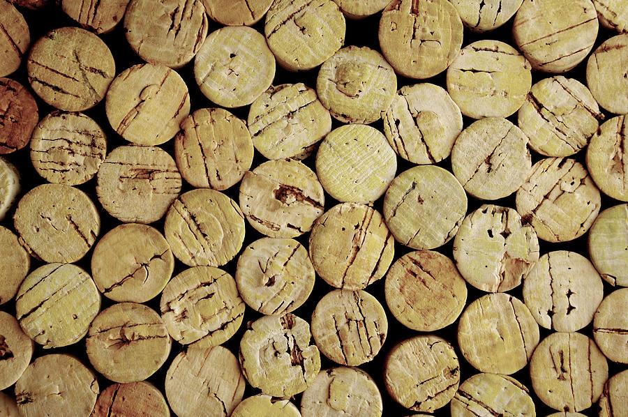 Corks Photograph by Halbergman