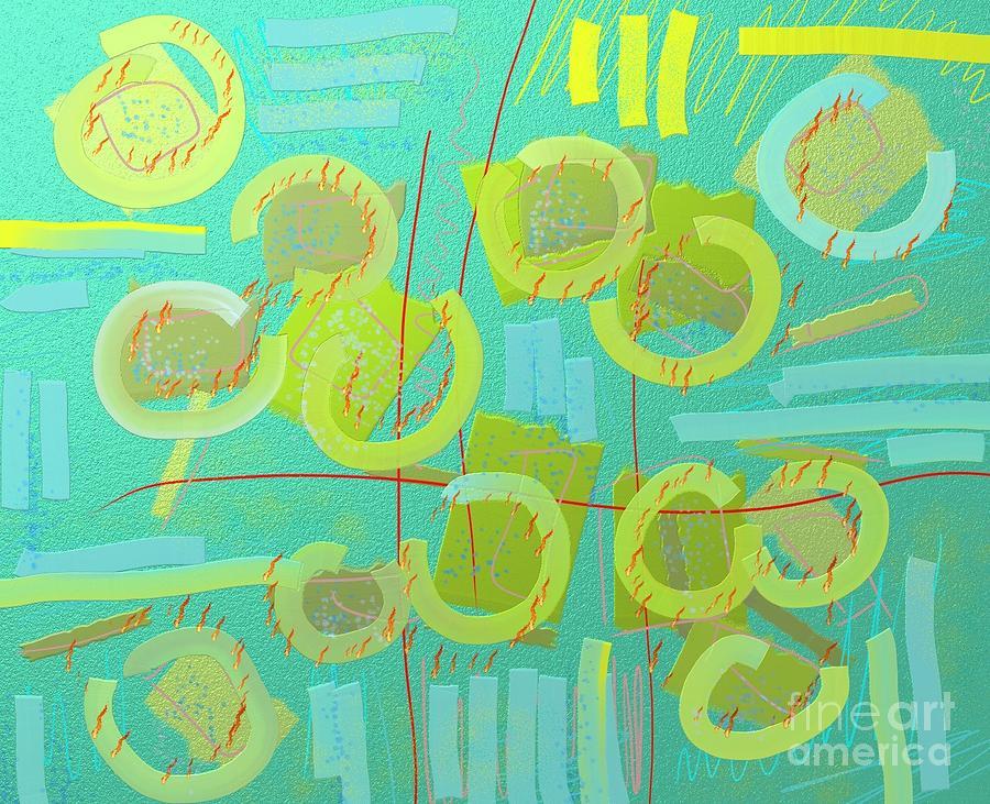 Corn field by Chani Demuijlder