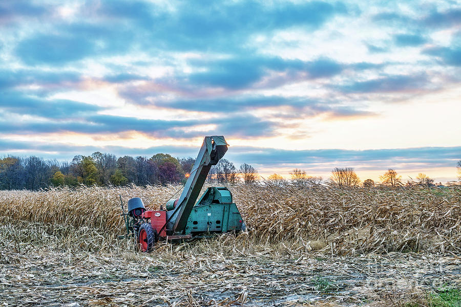 Corn Picker at Rest by David Arment