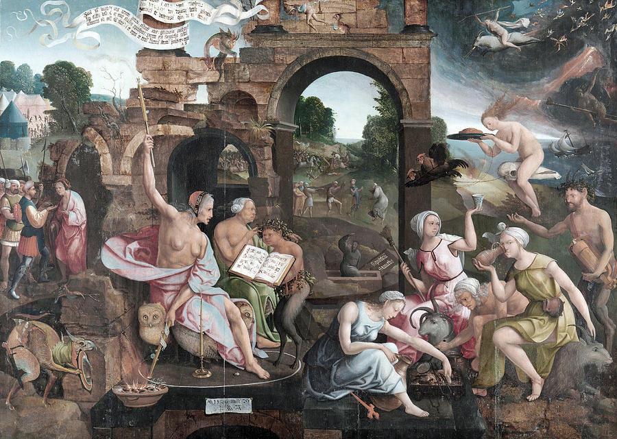 Cornelisz Witch Of Endor by Granger