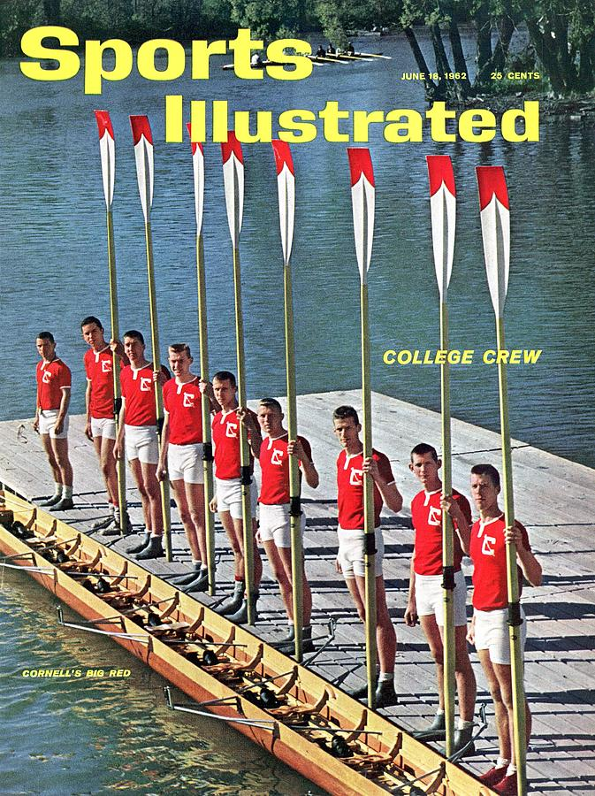 Cornell University Crew Team Sports Illustrated Cover Photograph by Sports Illustrated