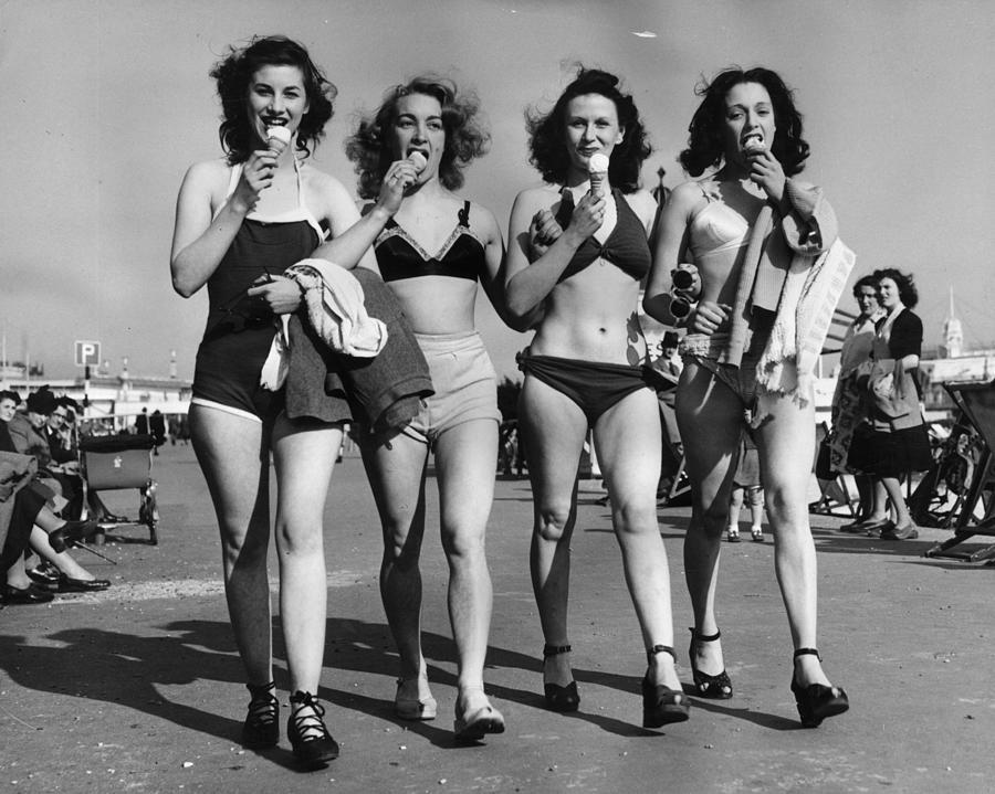 Cornet Quartet Photograph by N Vigars