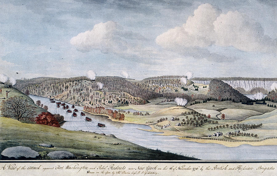 Cornwallis Attack On Fort Lee Photograph by Fotosearch