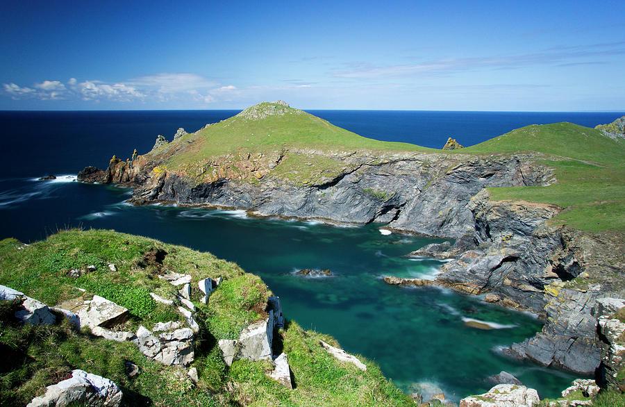 Cornwalls North Coast Photograph by Daryl Hutchinson