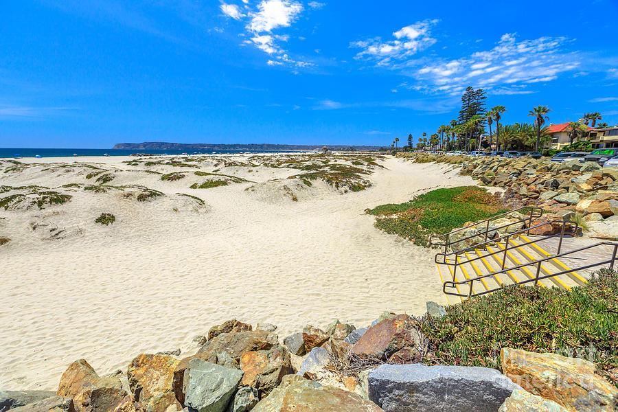 Coronado Beach San Diego by Benny Marty