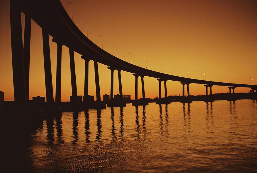 Coronado Bridge Photograph by Harvey Meston