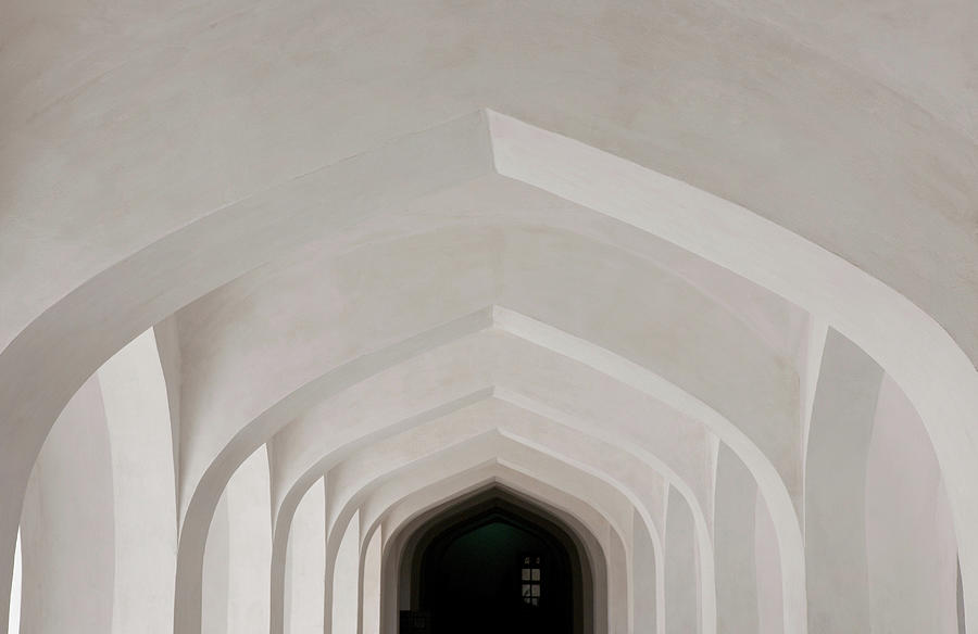 Corridor In Amer Fort, Rajasthan, India Photograph by Cultura Exclusive/karen Fox